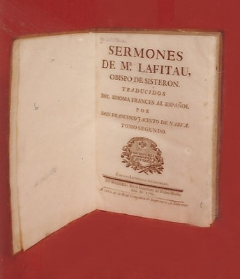 Libro Sermones de Mr Latifau