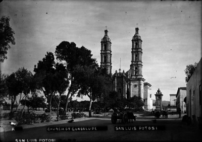 "Church of Guadalupe en ""San Luis Potosí"""
