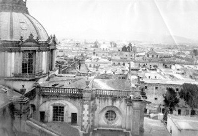 """""""N°. 234 Panorama of Mexico.. looking North from the Cathedral"""""""