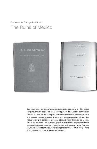 The Ruins of Mexico